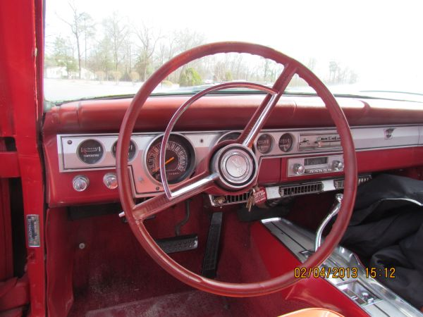 1966 Plymouth Barracuda Coupe dash | Stevens Virtual Automotive Museum