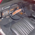 1969 Chevrolet Impala Coupe Interior
