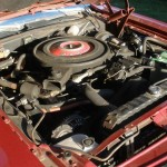1971 Dodge Challenger R/T 440 Magnum Engine 4-Barrel Carburetor