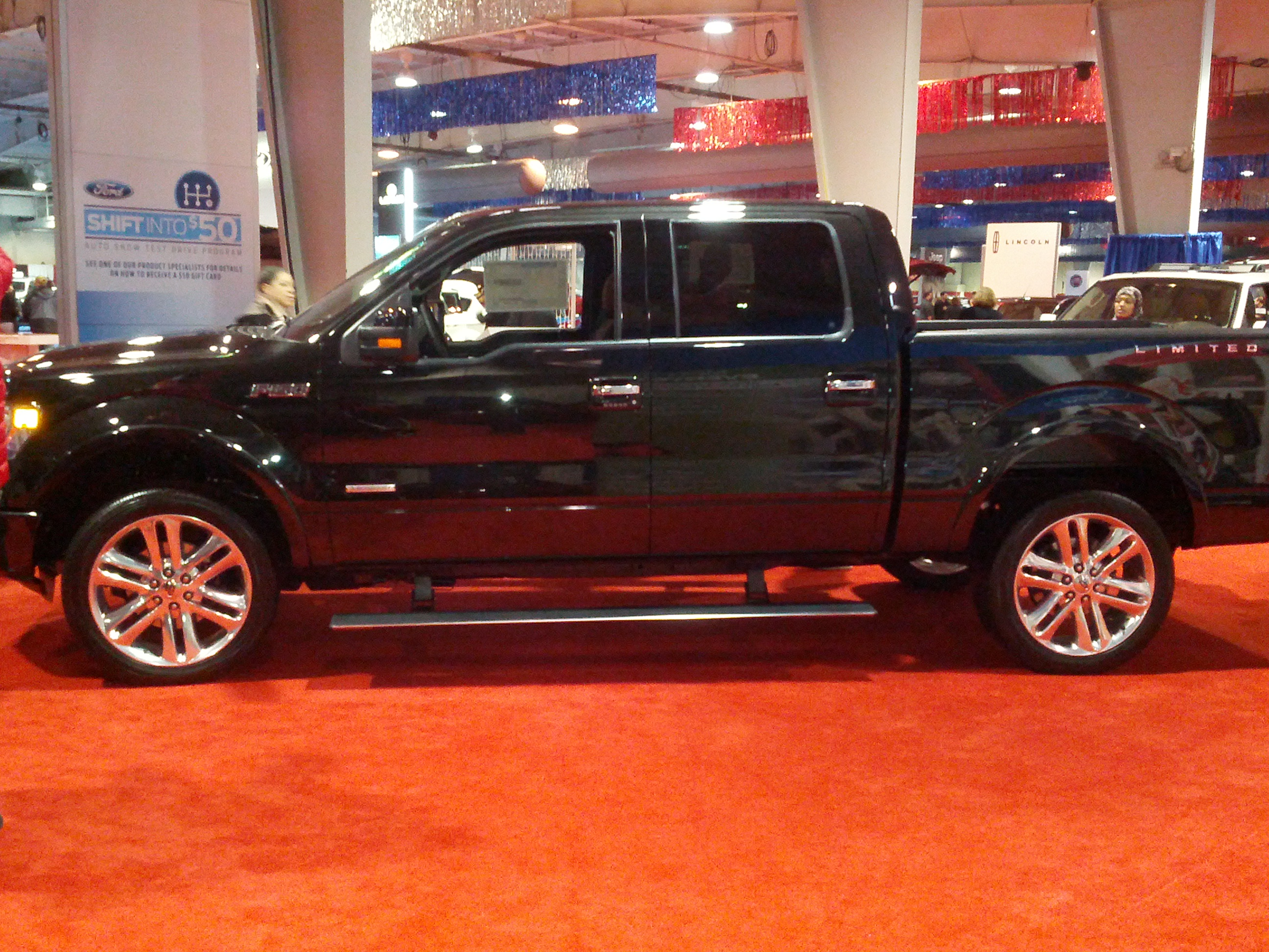 2013 ford f150 limited side stevens virtual automotive museum. Black Bedroom Furniture Sets. Home Design Ideas
