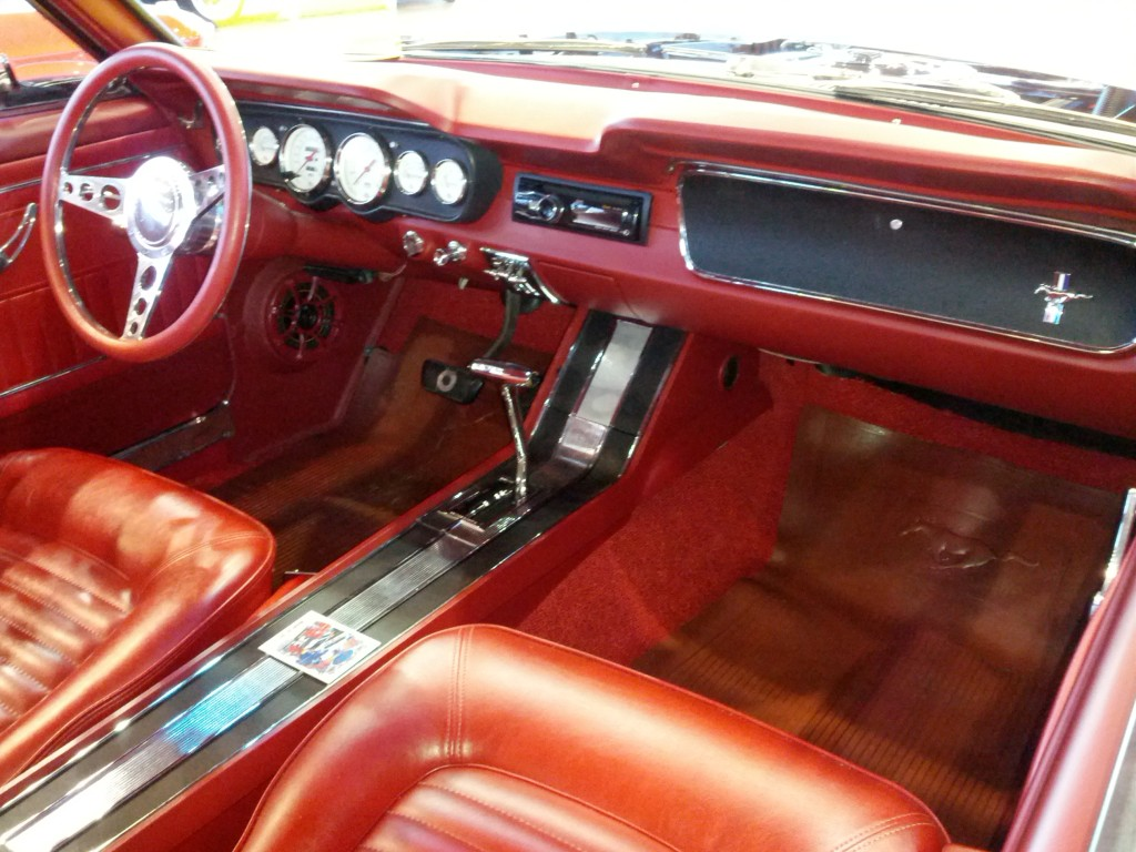 1965 Ford Mustang Interior Stevens Virtual Automotive Museum