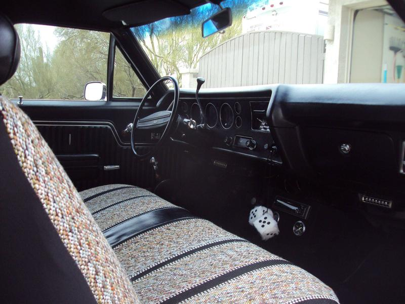 1971 El Camino Ss Interior Stevens Virtual Automotive Museum