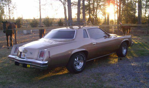 1976 Pontiac Grand Prix 50th Anniversary Gold Edition