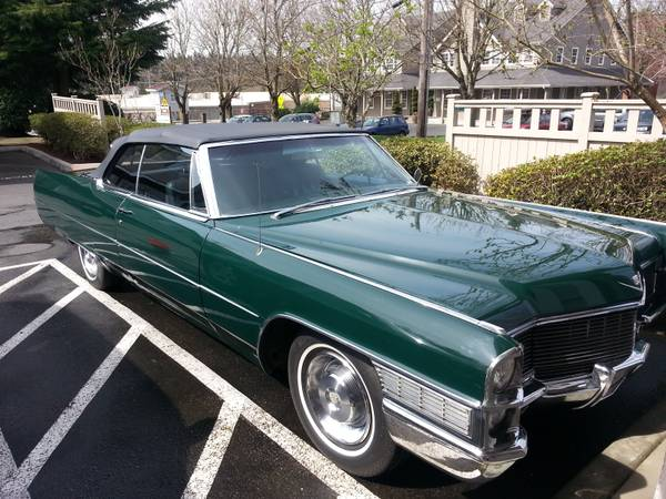 1965 cadillac coupe deville convertible washington woodinville. Cars Review. Best American Auto & Cars Review