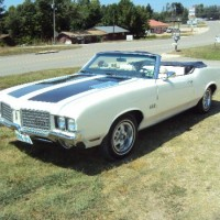 1972 Olds Cutlass 442 Convertible