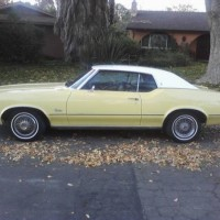 1972 CUTLASS SUPREME ALL MATCHING NUMBERS
